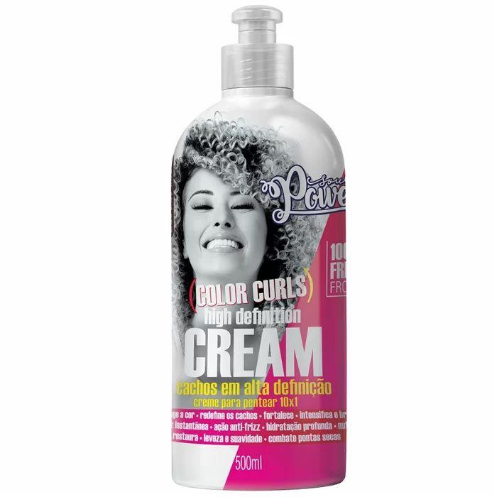 Creme Para Pentear Soul Power Color Curls Magic Help 500ml