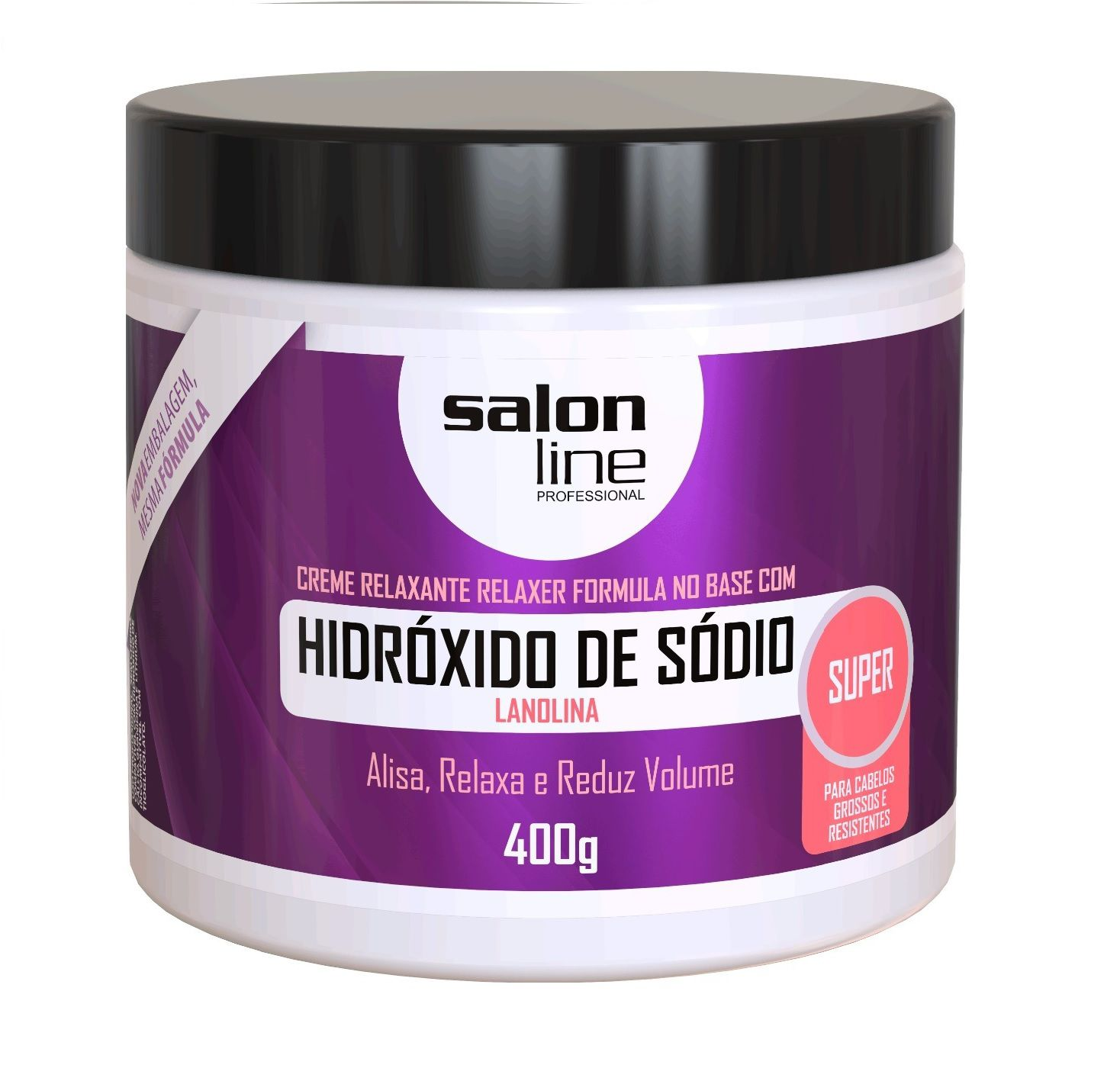 Creme Relaxante Hidróxido De Sódio Super 400g - Salon Line