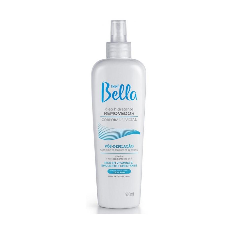 Depil Bella Óleo Hidratante Removedor Algodão 500ml