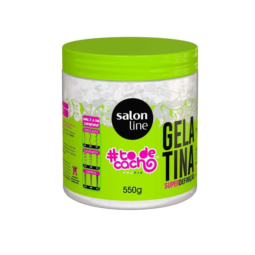 Gelatina Salon Line Super Definição 550g