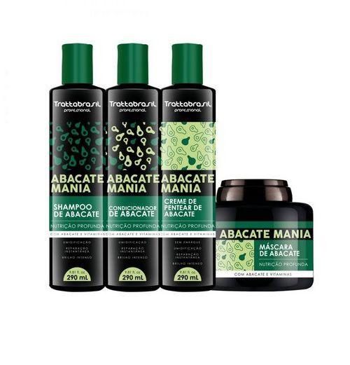 Kit Abacate Mania Trattabrasil (4 produtos)