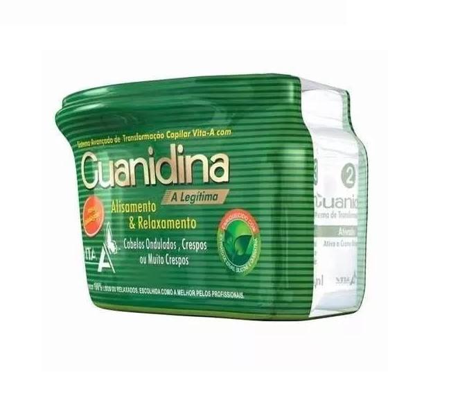 Kit Guanidina Vita A Relaxamento E Alisamento 200g
