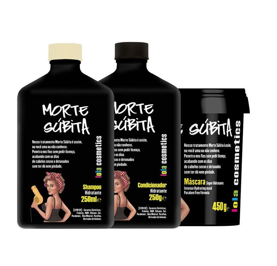 Kit Home Care 3 Itens Morte Súbita Lola Cosmetics