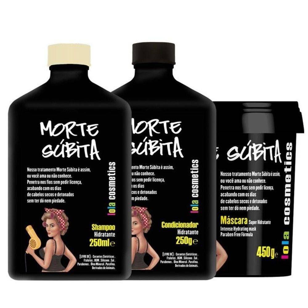 Kit Lola Morte Súbita 3 Itens - Lola Cosmetics