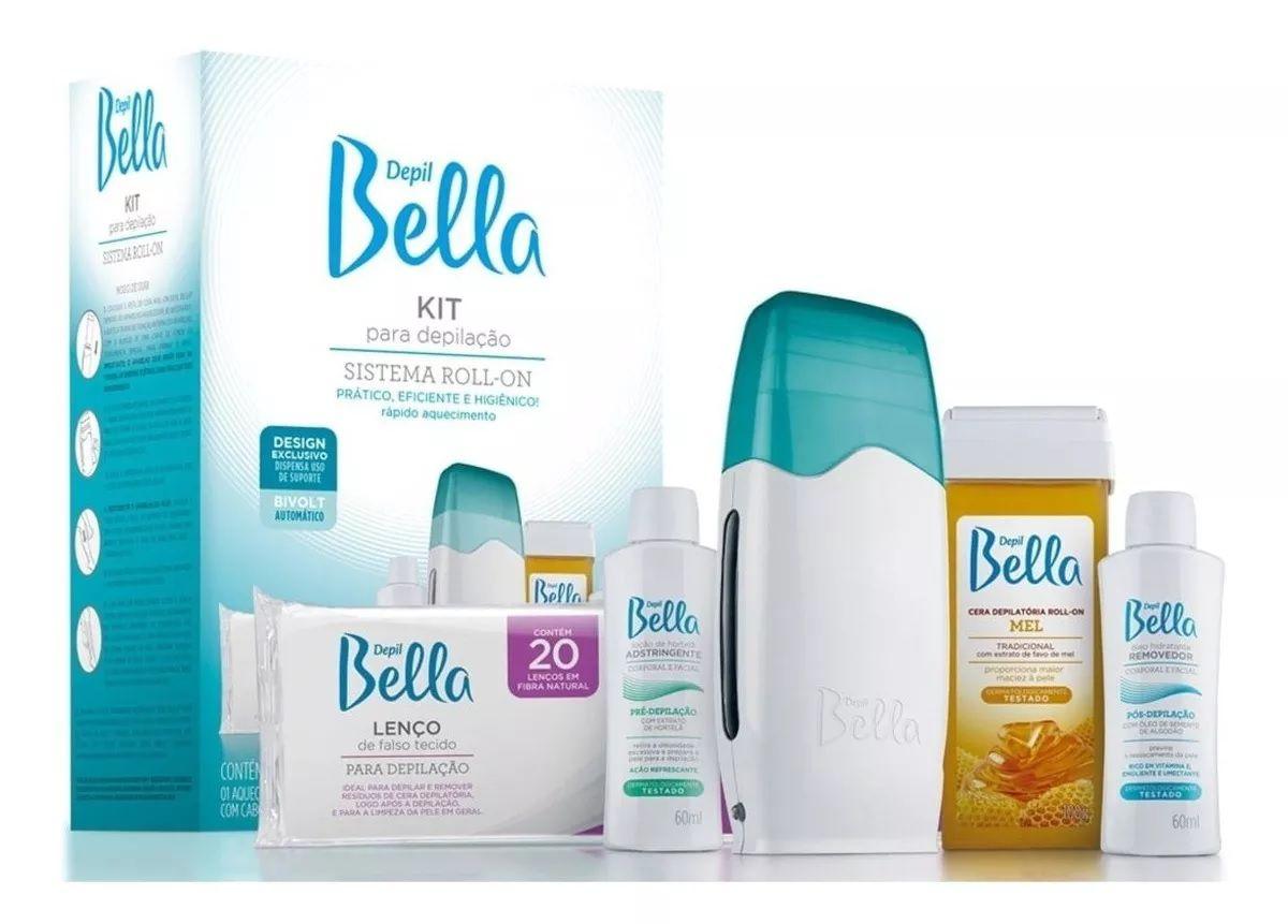 Kit para Depilação Roll-on PA0092 Depil Bella