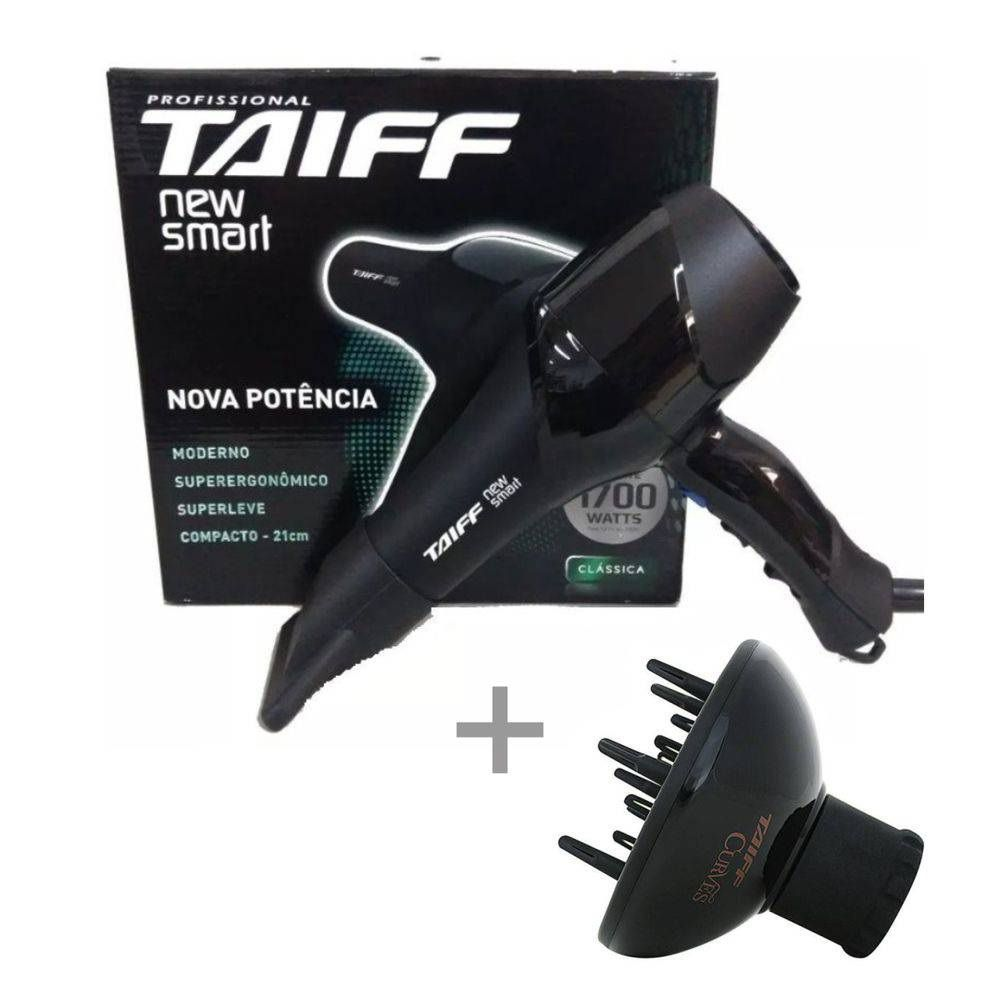 Kit Taiff 127v - Secador New Smart 1700w + Difusor
