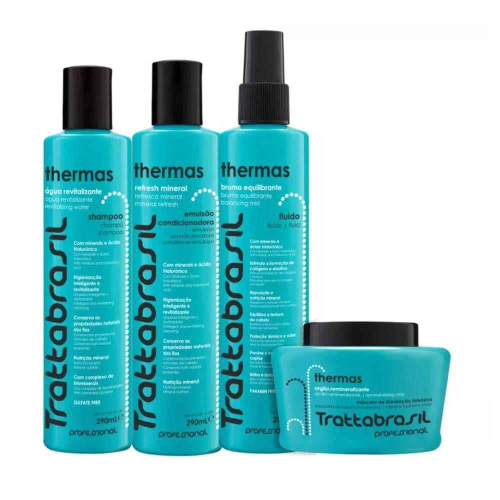 Kit Thermas Trattabrasil Maxibrasil 4 Produtos