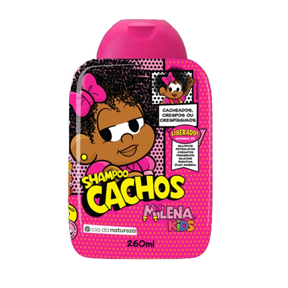 Linha Milena Kids Cachos (5 produtos)