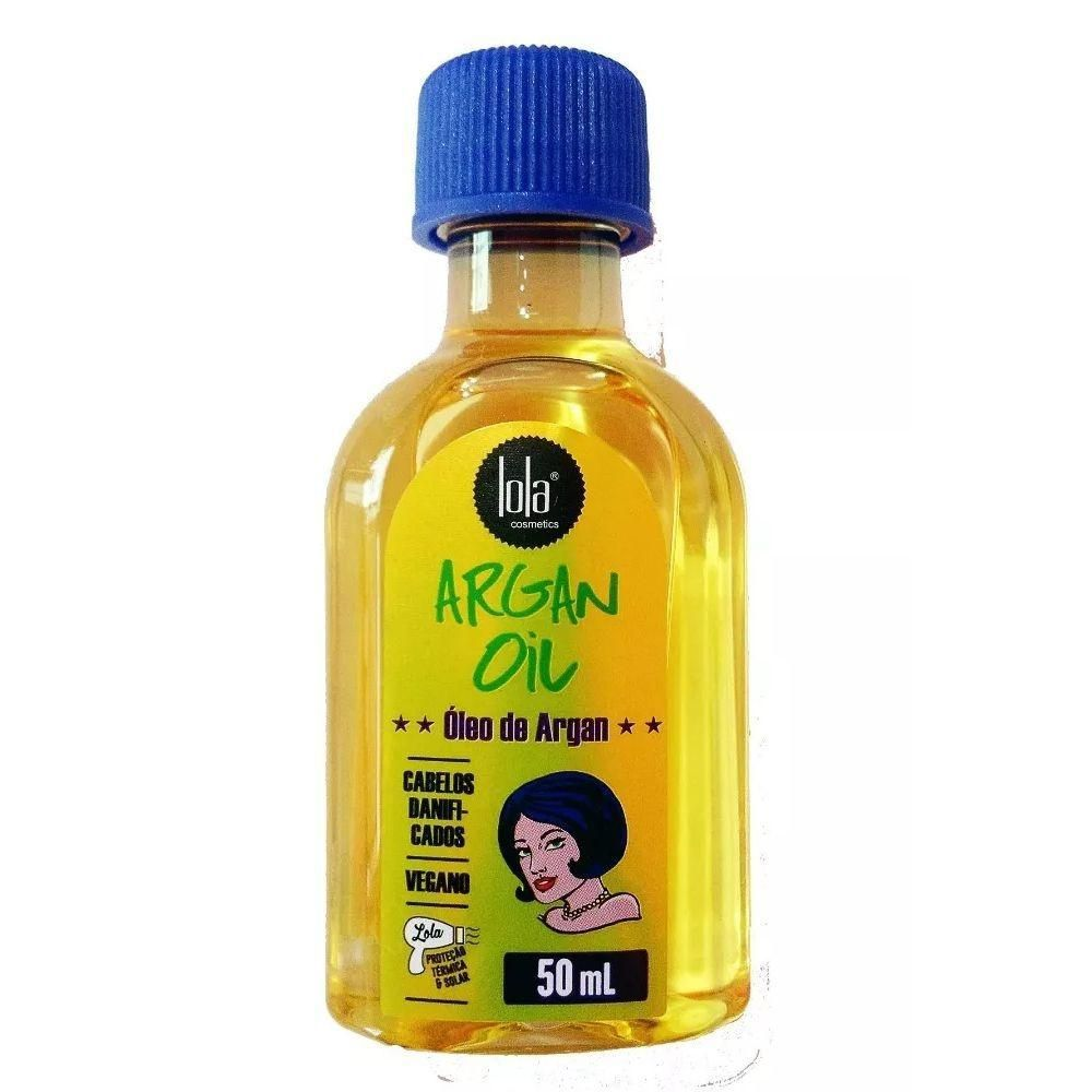 Lola Cosmetics Argan Oil Óleo Capilar 50ml