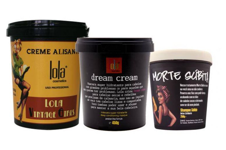 Lola Cosmetics - Kit (Dream Cream 450g + Vintage Girls 850g + Shampoo Morte Súbita 250g)