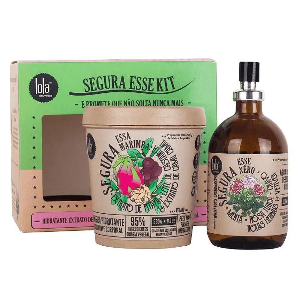 Lola Cosmetics Segura Esse Kit - Hidratante + Colônia