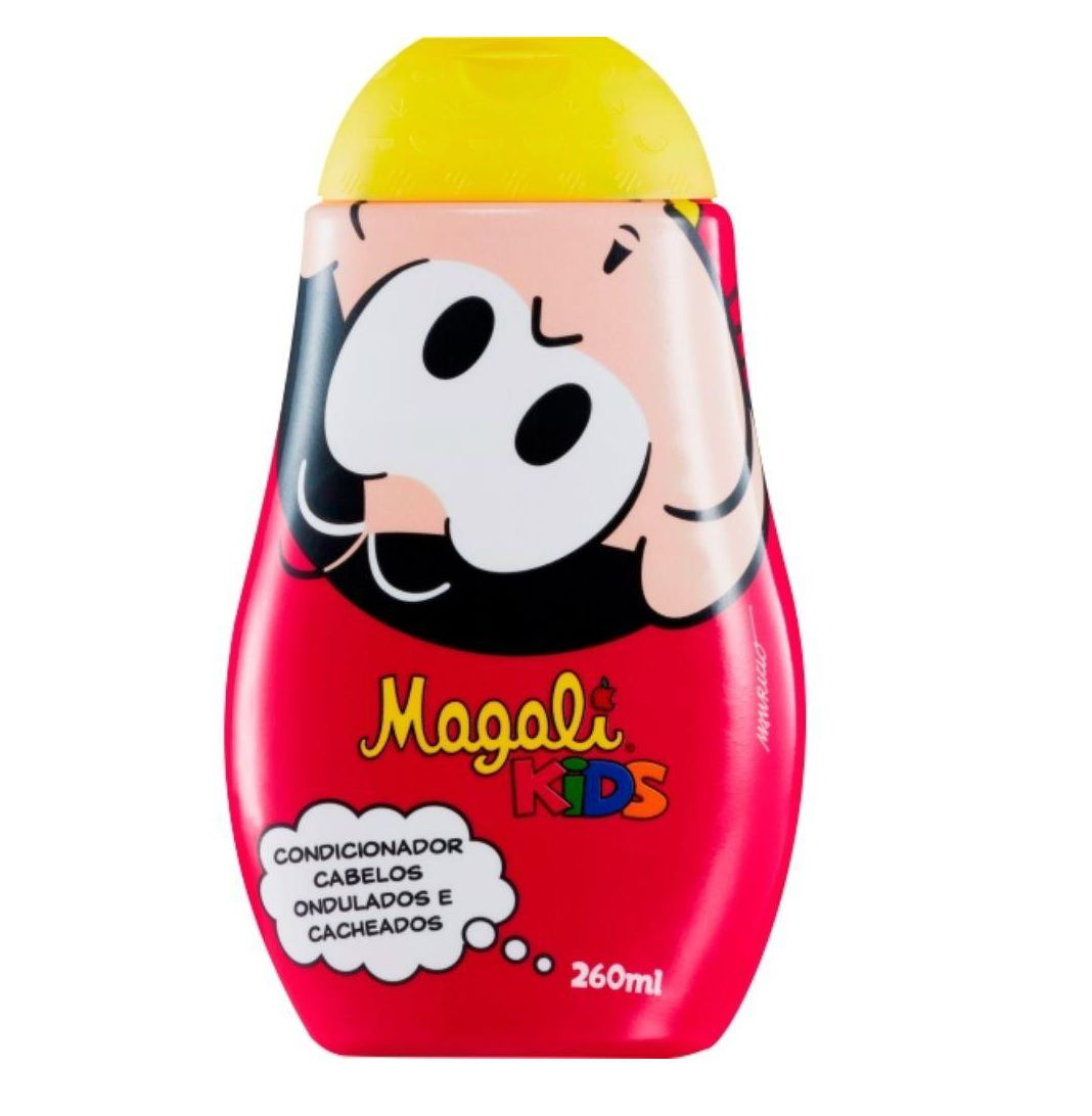 Magali Kids Condicionador - Cabelos Ondulados e Cacheados 260ml