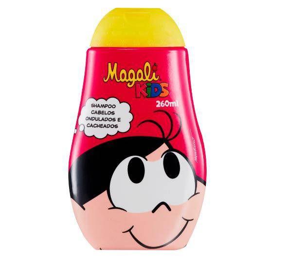 Magali Kids Shampoo - Cabelos Ondulados e Cacheados 260ml
