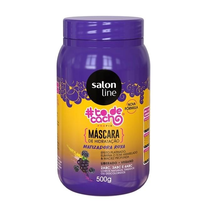 Máscara Matizadora Capilar #todecacho - Salon Line 500g