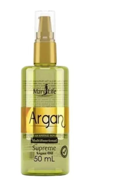 Óleo De Argan Oil 60ml Supreme  Reparador Mary Life
