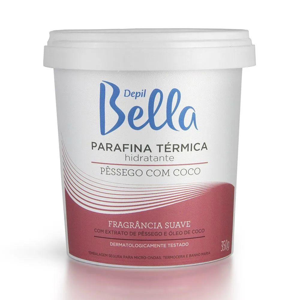 Parafina Térmica Depil Bella Pêssego Com Coco 350g