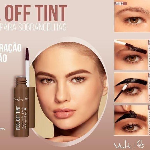 Peel Off Tint Vult Pigmento para Sobrancelhas 01