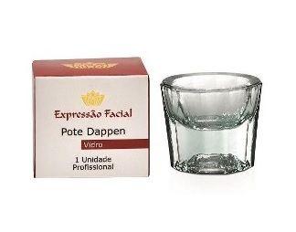 Pote Preparação De Henna Expressão Facial Vidro