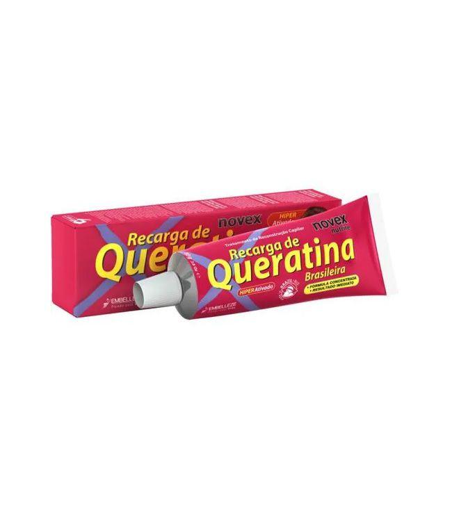 Recarga De Queratina Novex  Brasileira 80g