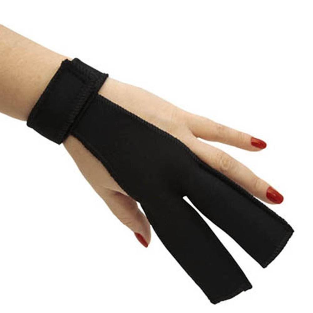 Santa Clara - Protetor De Dedos Para Usar Com A Prancha - Preto