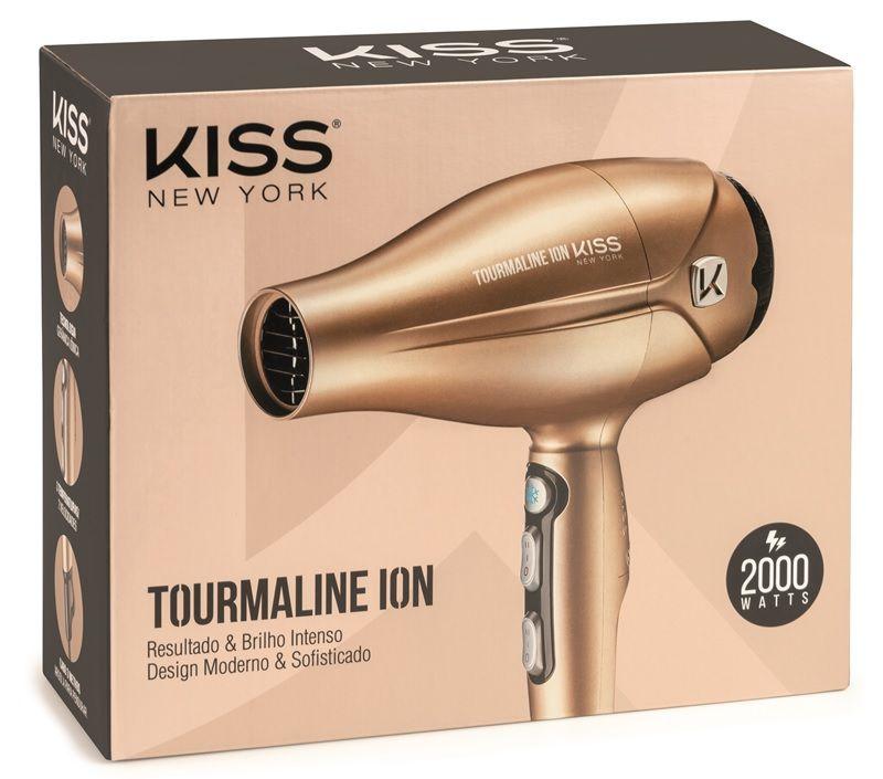 Secador Kiss  Tourmaline Ion 2000W - 127V