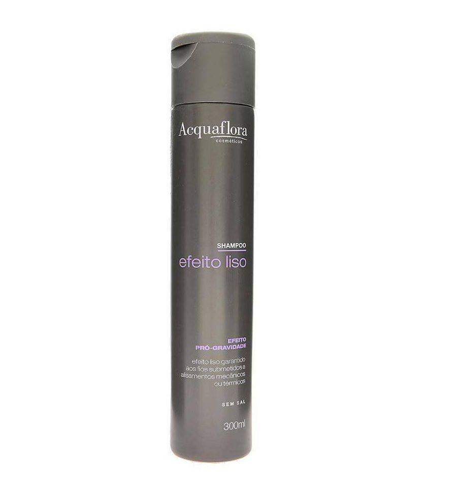 Shampoo Acquaflora Efeito Liso 300ml