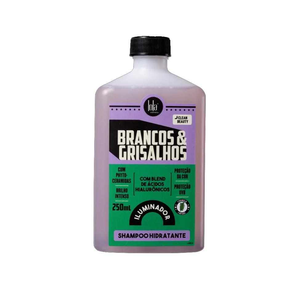 Shampoo Hidratante Lola Brancos & Grisalhos 250ml