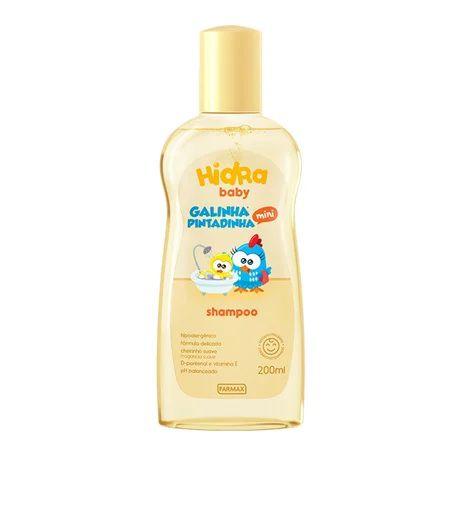 Shampoo Hydra Baby Galinha Pintadinha 200ml