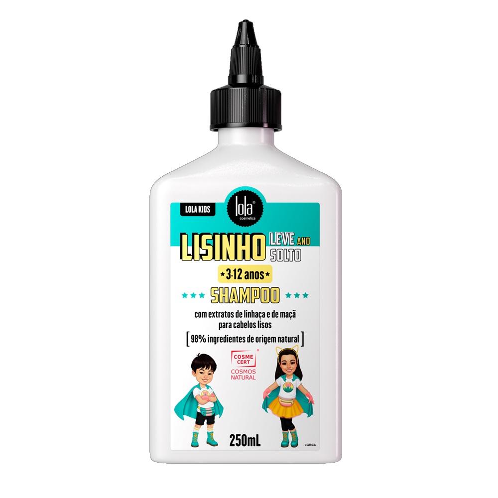 Shampoo Lola Kids Lisinho Leve and Solto 250ml