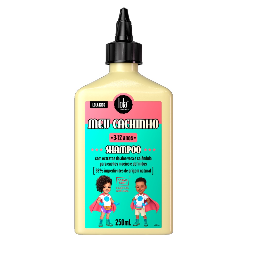 Shampoo Lola Kids Meu Cachinho 250ml