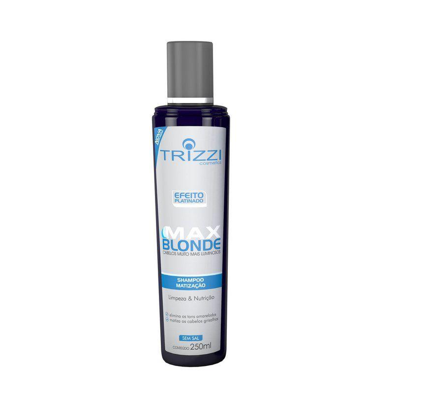 Shampoo Max Blonde Trizzi 300ml