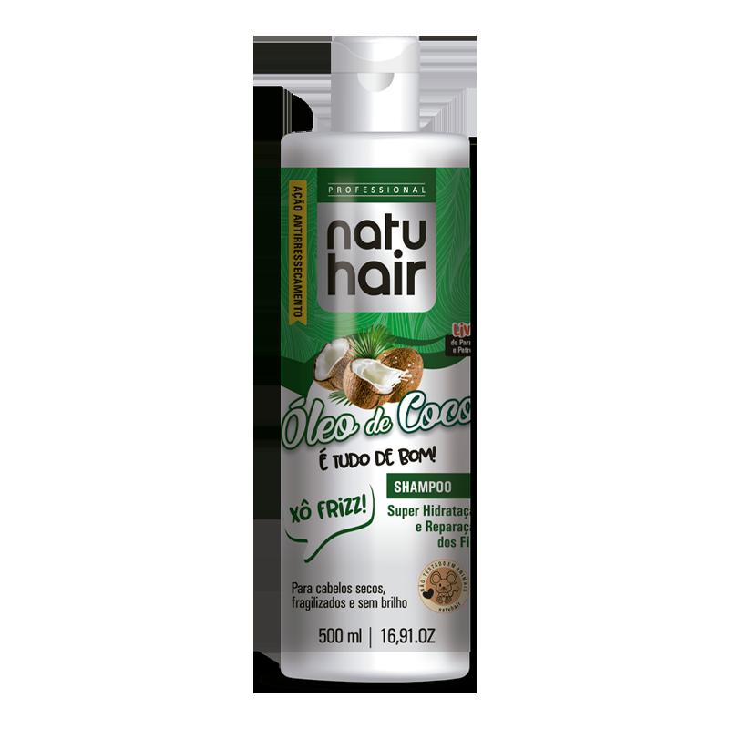 Shampoo Natuhair Óleo de Coco 500ml