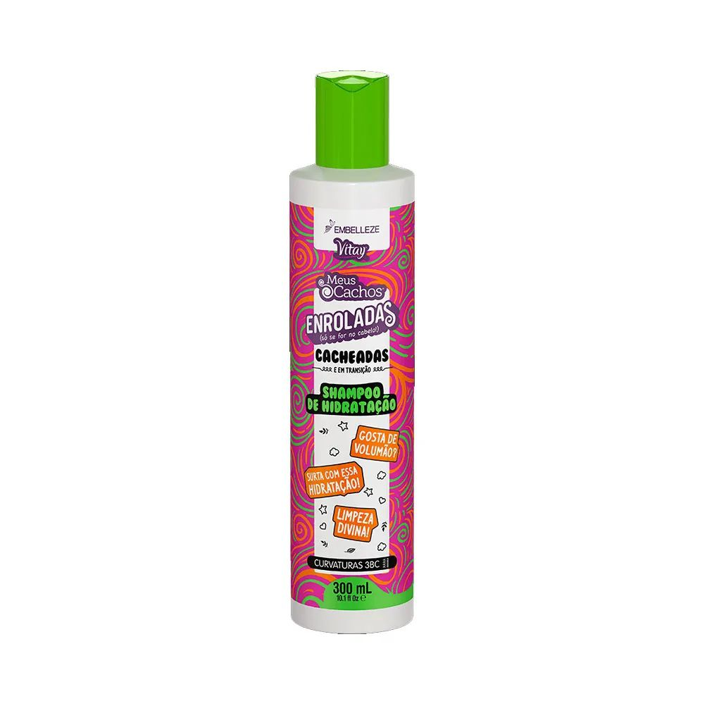 Shampoo Novex Meus Cachos Enroladas Cacheadas 300ml