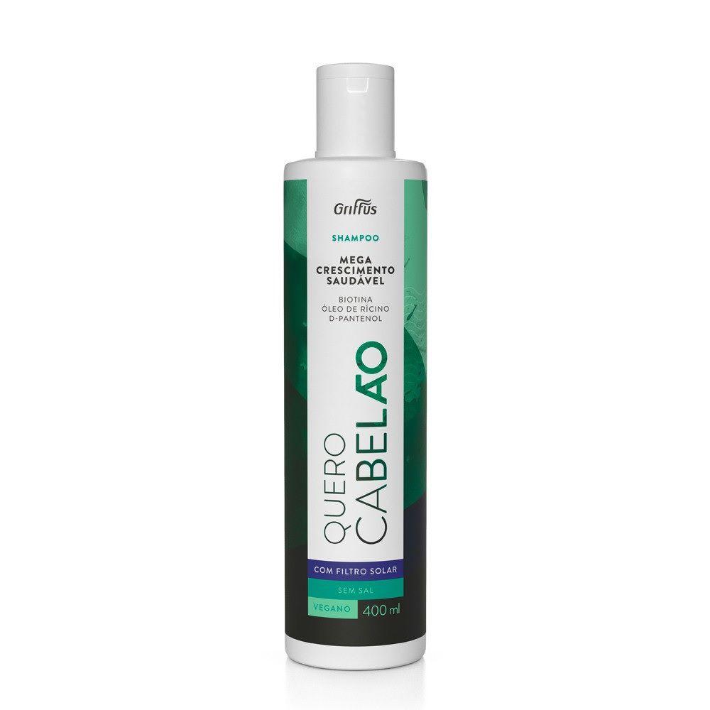 Shampoo Quero Cabelão mega crescimento 400ml