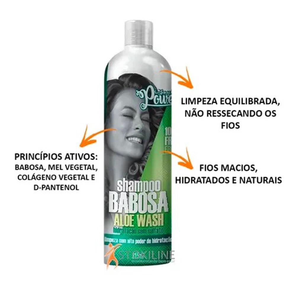 Shampoo Soul Power Babosa 315ml