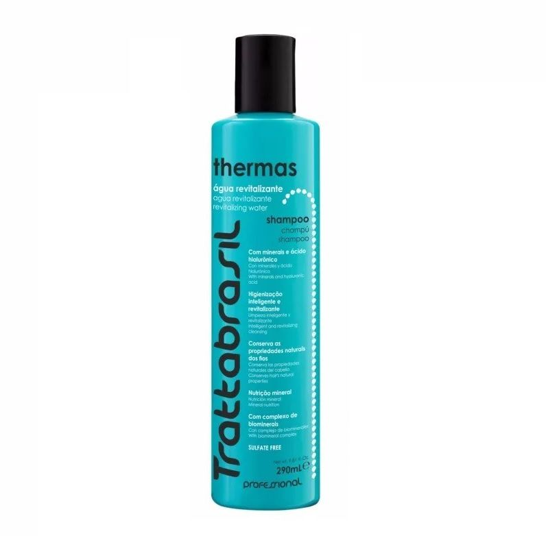 Shampoo Thermas 290 Ml Trattabrasil Maxibrasil