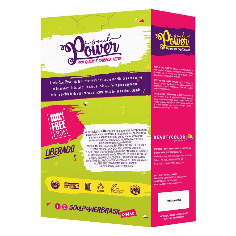 Soul Power Magic Help Wash Kit  Shampoo + Condicionador