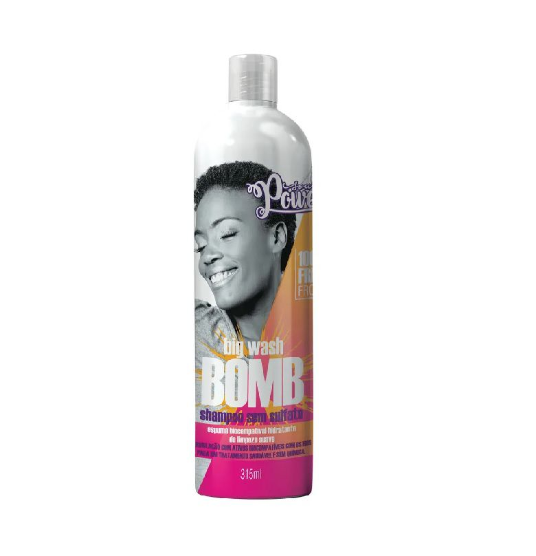 Soul Power Shampoo 315mL Big Wash Bomb