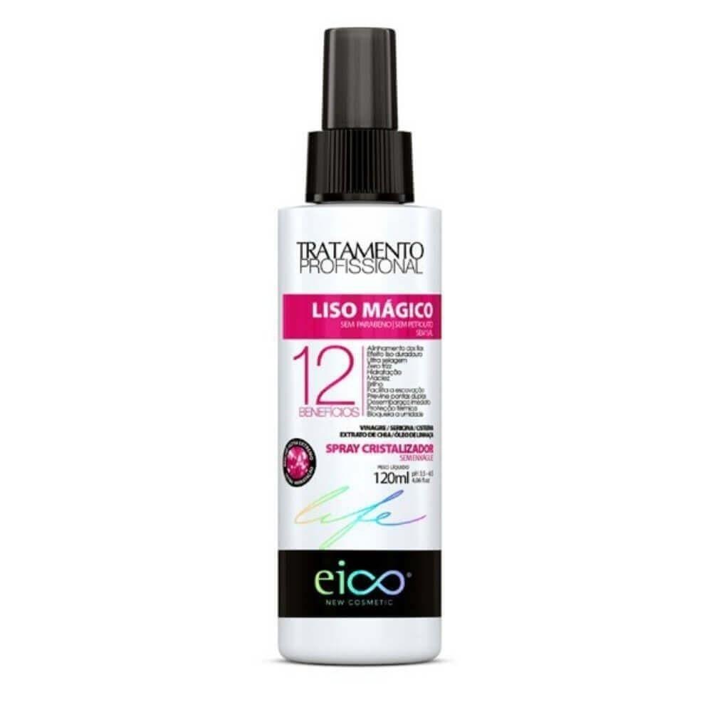 Spray Cristalizador Eico Life Liso Mágico - 120ml