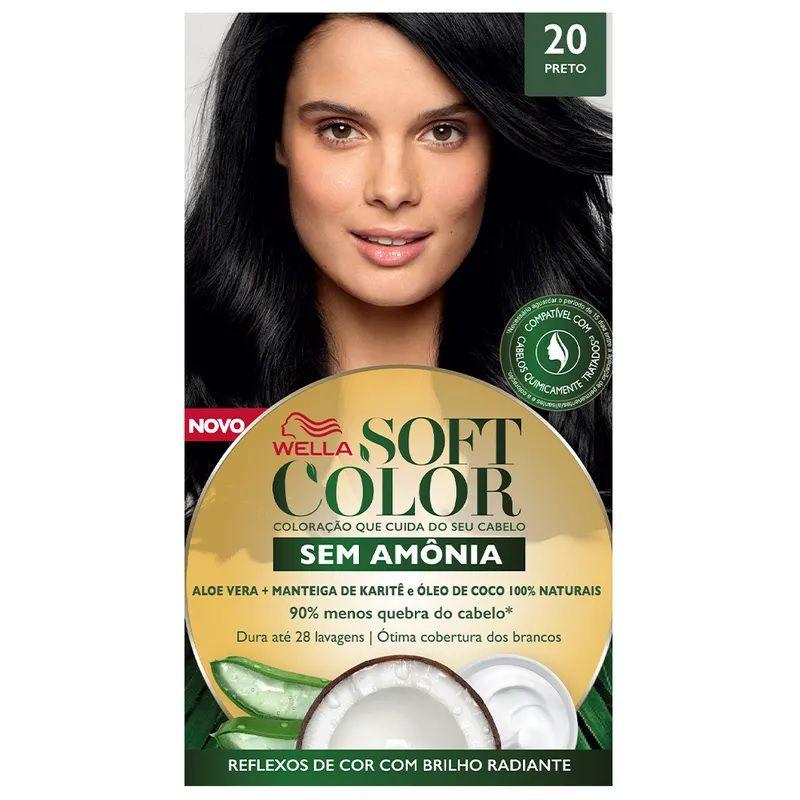 Tintura Soft Color 20 Preto