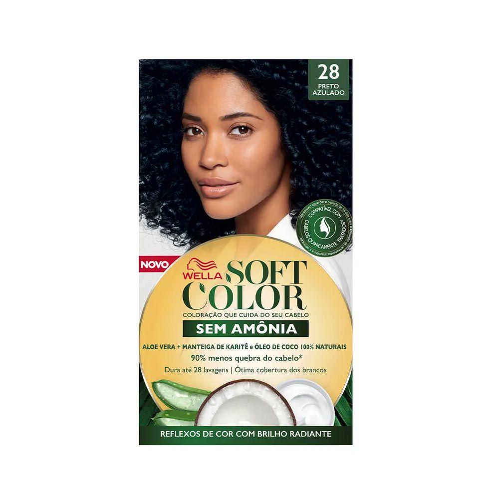 Tintura Soft Color 28 Preto Azulado