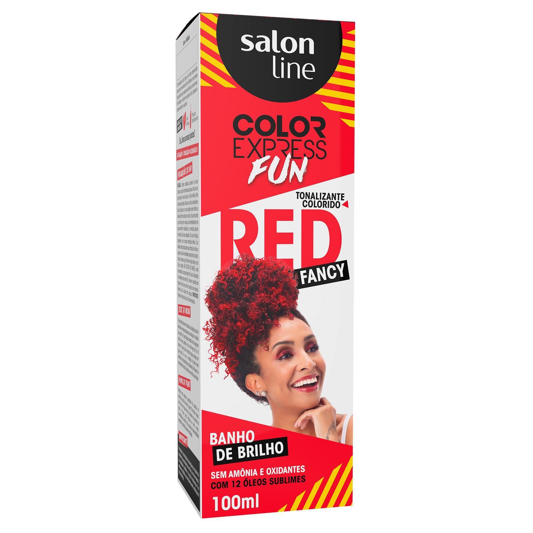 Tonalizante Salon Line Color Express Fun Red Fancy 100ml