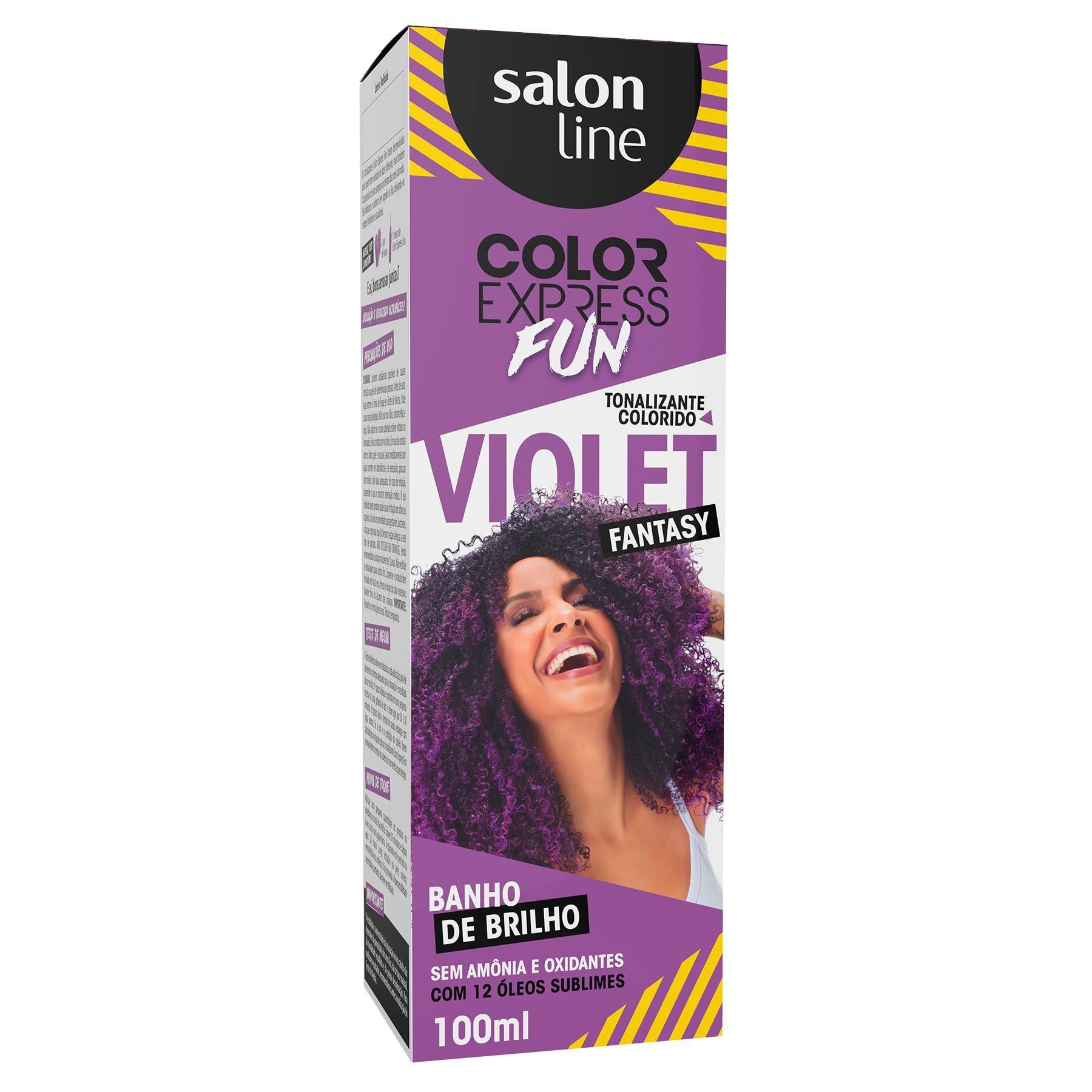Tonalizante Salon Line Color Express Violet Fantasy 100ml