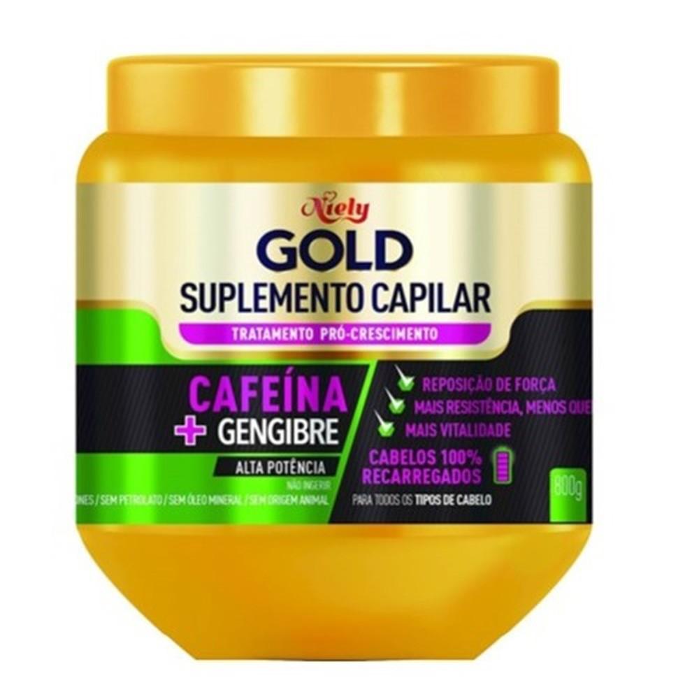 Tratamento Pró Crescimento Cafeína Niely Gold 800g