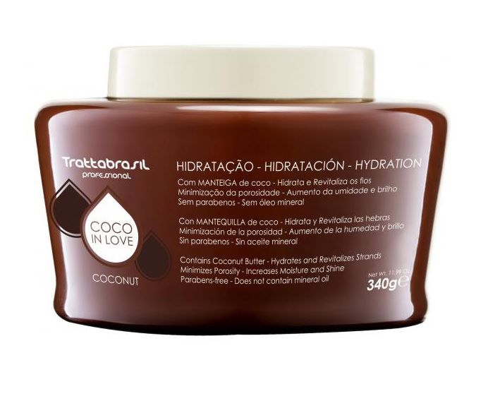 Trattabrasil Hidratação Coco In Love - 340g