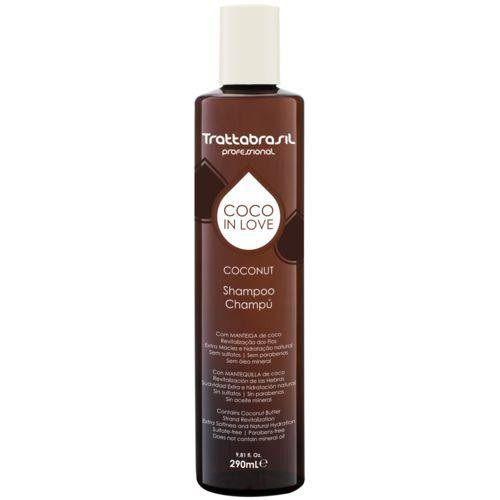 Trattabrasil Shampoo Coco In Love - 290 ml