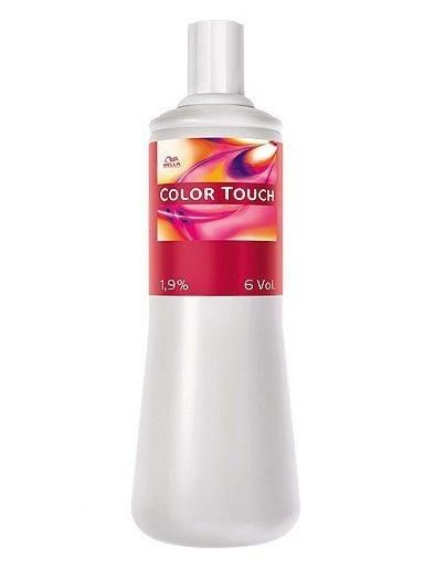 Wella Color Touch Emulsão 1,9 Água Oxigenada 6 Volumes - 1000ml