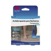 Fita Antiderrapante Safety-Walk Transparente para Banheiros - 3M