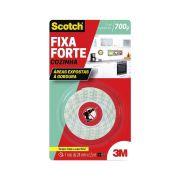 Fita Dupla Face Scotch® Fixa Forte Cozinha - 3M