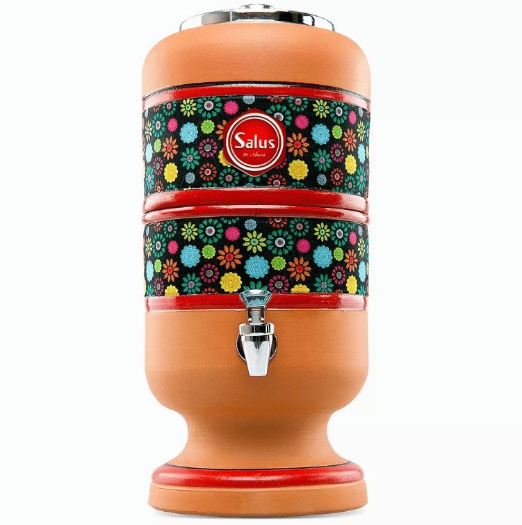 Filtro de Barro Flor Preta 8L - Salus